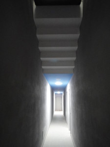 corridoio ingresso alloggi